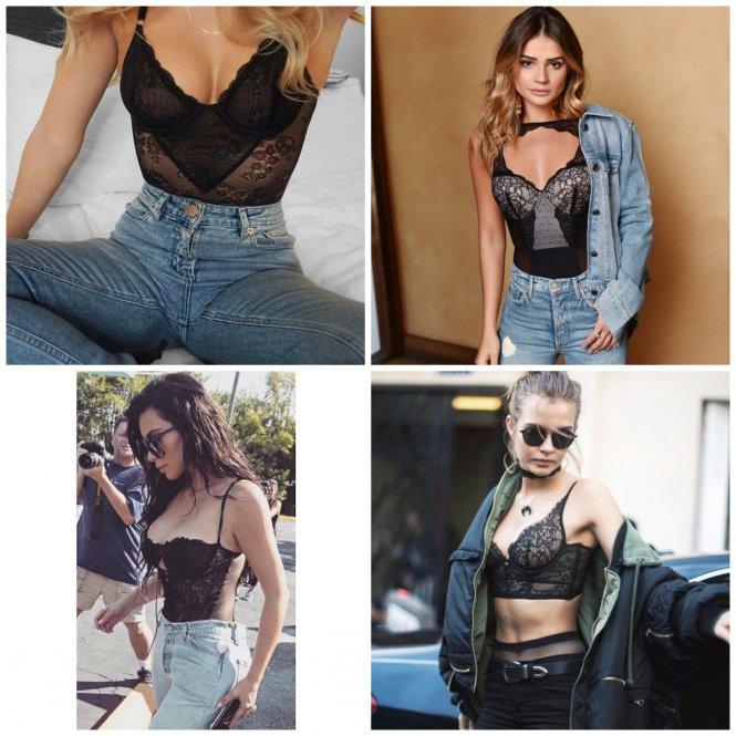 A lingerie com jeans está com tudo! 0f3f5dee5b6