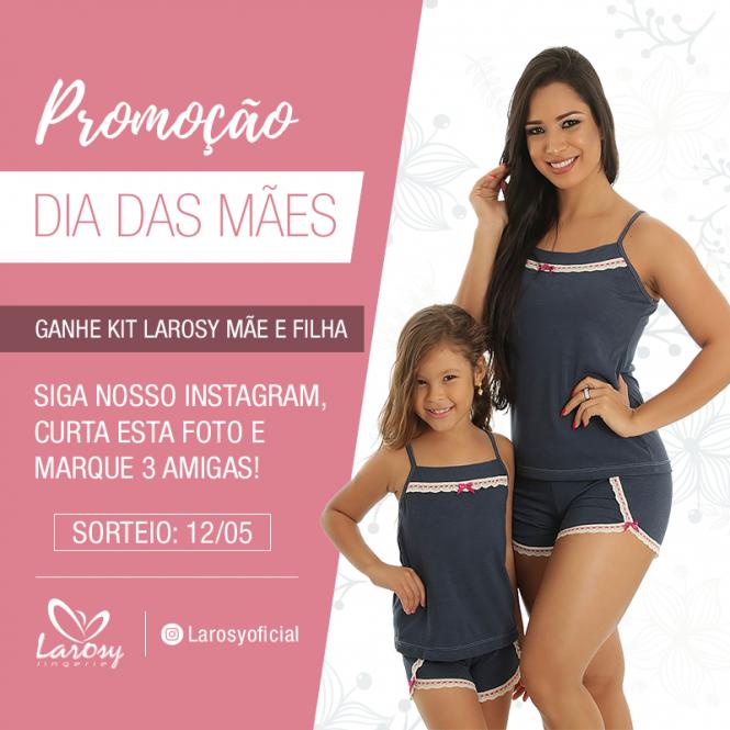 980b8147f Quer ganhar um kit de baby dolls adulto e infantil da Larosy  Basta seguir  o perfil